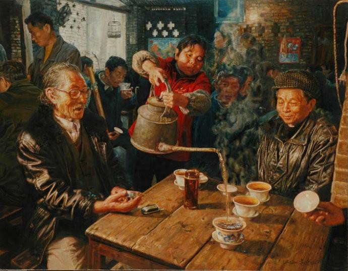 Чэнь Аньцзянь, Чайная