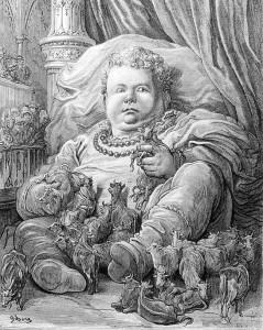 Гаргантюа и Пантагрюэль-иллюстрация Гюстава Доре