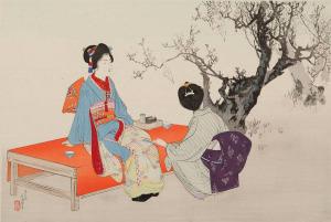 Mizuno Toshikata (1866-1908) 900 х 603