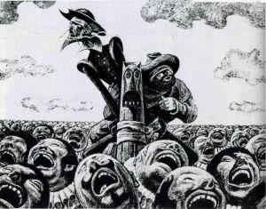 Савва Бродский иллюстрации к роману Дон Кихот