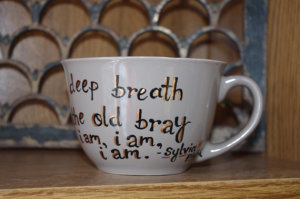 Sylvia Plath -чайная чашка