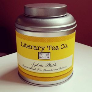 Sylvia Plath - чайный интернет-магазин LiteraryTeaCo