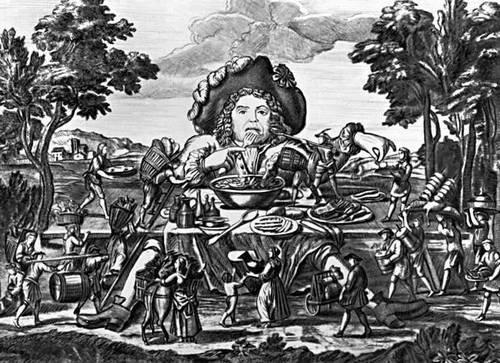иллюстрация-Гаргантюа и Пантагрюэль-Ф. Рабле