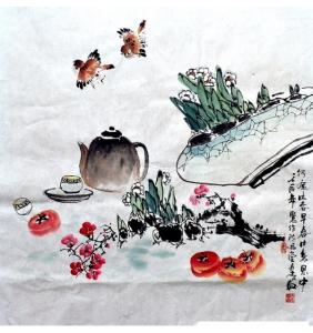 Традиционная китайская живопись, Ранняя весна