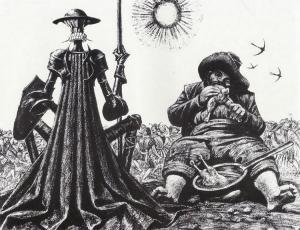 Савва Григорьевич Бродский-иллюстрация Дон Кихот