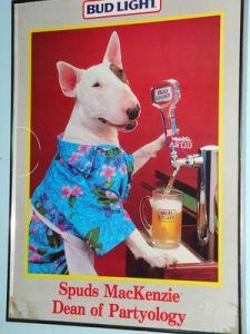 Спадс Маккензи -(Spuds MacKenzie)-Beer