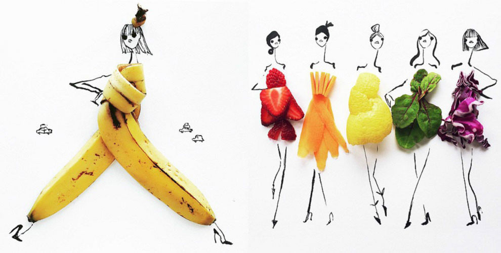 vegetables--fashion-sketches-Gretchen Roehrs-990x500
