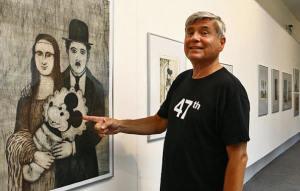 Иржи Слива-фото с выставки