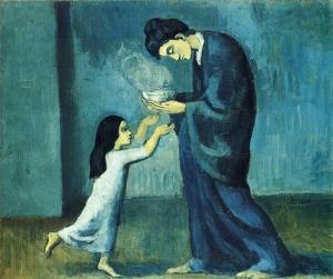 Пабло Пикассо Суп 1902 г 800 х 670