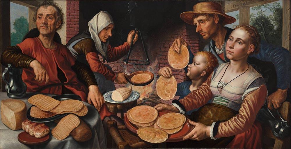 Питер Артсен Блинная (1560) - 1000 х 514
