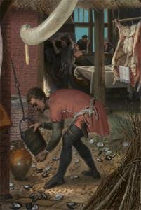 Питер Артсен Фрагмент картины 403 х 600