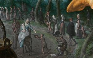 Питер Артсен Фрагмент картины 700 х 441