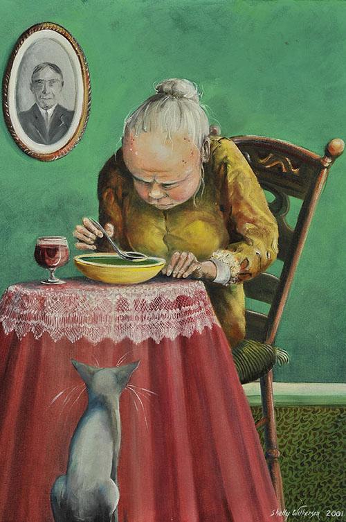 Shelly Wilkerson Гороховый суп и каберне 500 х 753