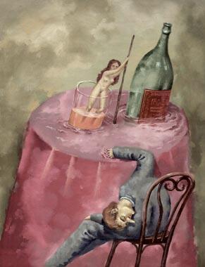 карикатуры о вине-Florian Doru Krihana ( Romania)
