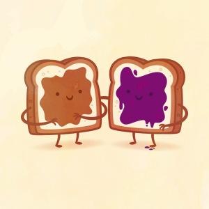 пищевые пары-иллюстрации-Tseng--Арахисовое масло и желе