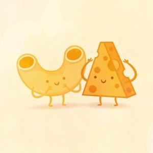 пищевые пары-иллюстрации-Tseng--Макароны с сыром