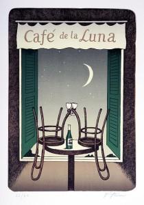винные карикатуры- Jiri Sliva-Кафе де-ла-Луна