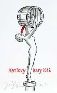 винные карикатуры- Jiri Sliva-Карловы Вары 2012