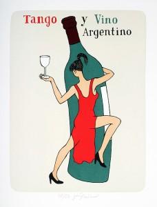 винные карикатуры- Jiri Sliva-Tango y vino