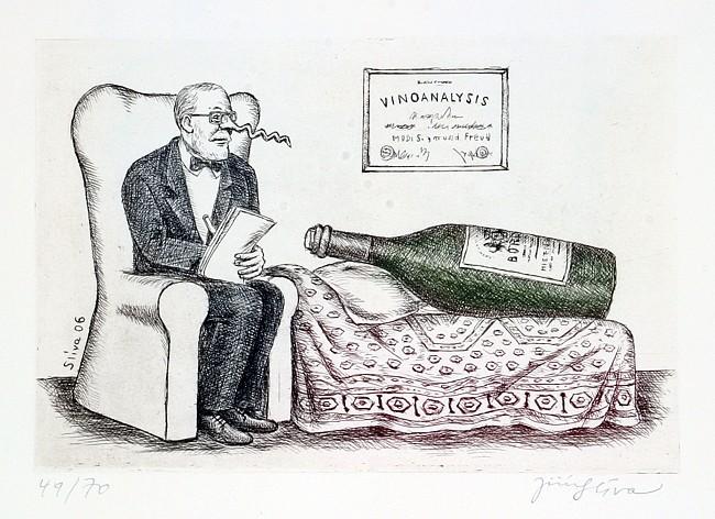 винные карикатуры- Jiri Sliva-Vinoanalysis