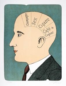 винные карикатуры- Jiri Sliva-отделы мозга