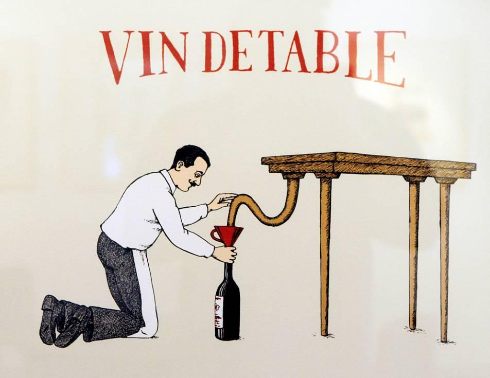 винные карикатуры- Jiri Sliva-столовое вино