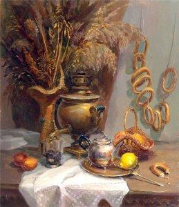 Александр Прокопенко - Натюрморт с баранками (2005)