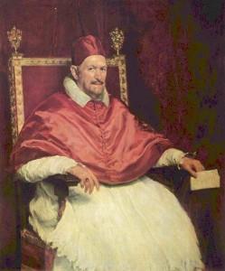 Диего Веласкес.Портрет папы Иннокентия X 900 х 1082