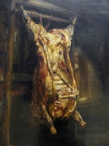Рембрант, Туша быка 800 х 1067