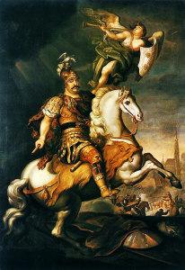 Ежи Семигиновский-Элеутер - Ян III Собеский в битве при Вене,1686 г