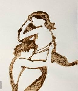 рисунки пролитого кофе-Николай Мирумян -15