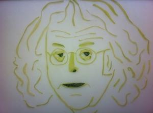 Даг Solstad-портрет из огрурца
