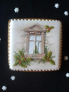 Mezesmanna-12 - рождественское окно