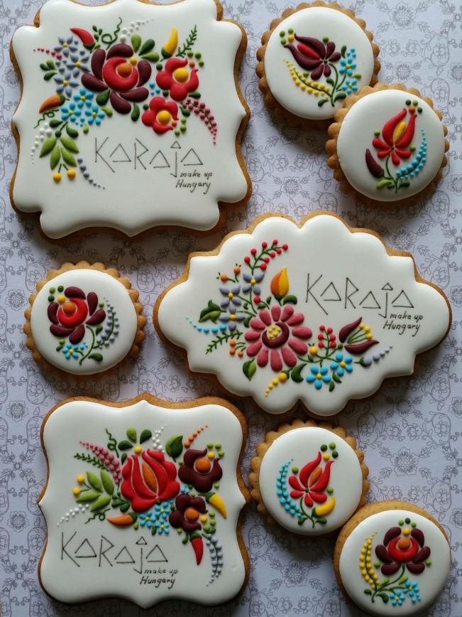 Печенье с росписью мастер-класс - Роспись пряников. Мастер-классы. Имбирное печенье и