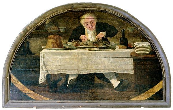 Вывеска лавки деликатесов Корселле Для Гурманов.