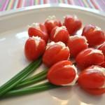 букет тюльпанов из фаршированных помидор-0