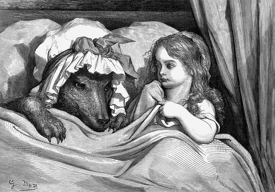иллюстрация Гюстава Доре (1853)