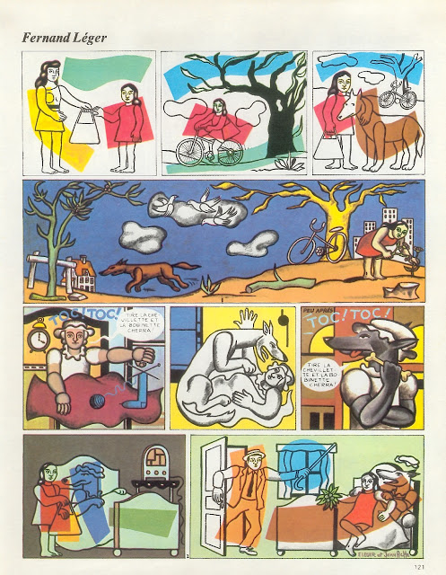 иллюстрации красной шапочки-жан аче_1973_фернан леже