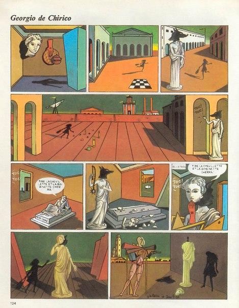 стрип-комиксы_жан аче_1973_georgio_de_chiric