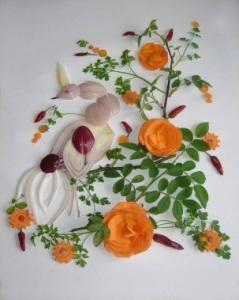 овощная композиция-