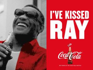 "постеры маркетинговой кампании ""Kissed By""_ray_charles"