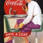 реклама кока-колы_за стойкой
