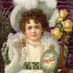 рекламный постер газировки Coca-cola-1886