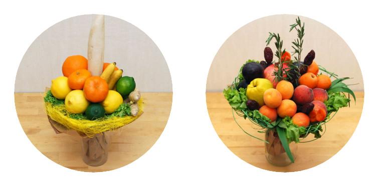 салат-букет-фрукты