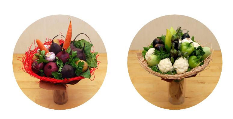 салат-букет-овощи