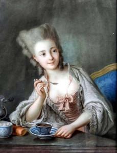 Неизваестный художник 18 века, Чашка шоколада