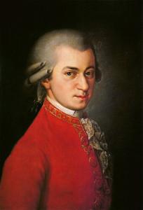 Вольфганг Амадей Моцарт 450 х 661