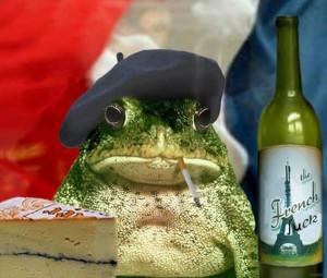 шуточный образ француза