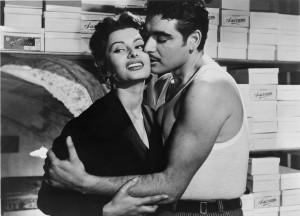 Sophia Loren In 'Gold Of Naples'
