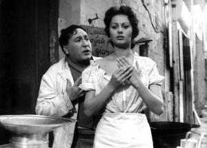 sofia-loren- киноновелла витторио де сика-пицца в кредит 1954=